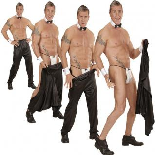 Sexy Stripper Hose Herren Kostüm Striphose Junggesellenabschied Stripperhose
