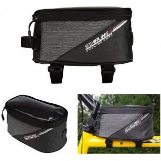 Fahrrad Tasche Rahmentasche Handy/Smartphone Tasche Oberrohrtasche 19 cm