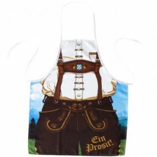 GRILLSCHÜRZE Lederhosen Schürze Bayern Oktoberfest Männerschürze Kochschürze