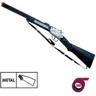 PONY EXPRESS Western Metall Gewehr Kinder Spielzeug Cowboy Indianer 100-Schuss