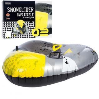 SNOW TUBE - TRI Blizzard - aufblasbarer Schneegleiter Schlitten Bob Wasserreifen