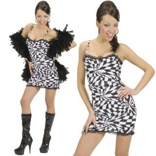 Discokleid 70er 80er Gr. L (42/44) Minikleid Hippie Party Kleid Damen Kostüm 895