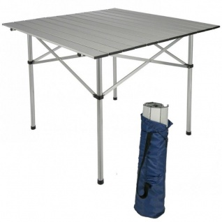 Campingtisch Gartentisch Balkontisch Tisch Aluminium Klapptisch 70x70 cm #6029