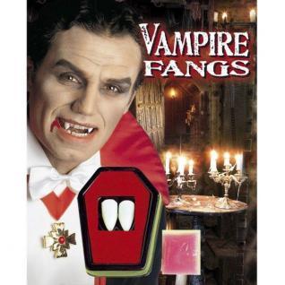 VAMPIRZÄHNE Dracula Eckzähne Halloween Werwolf Zähne Halloween Kostüm Zubehor