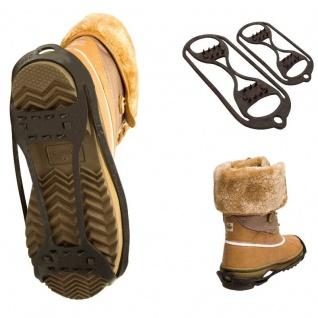 WINTER GRIP Spikes Antirutsch Schuhe Schuhketten DOPPELTER Gleitschutz 35-40
