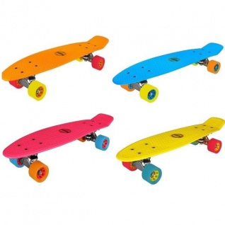 Nijdam® Retro Skateboard Komplett Board Penny Minicruiser Mini Cruiser Auswahl