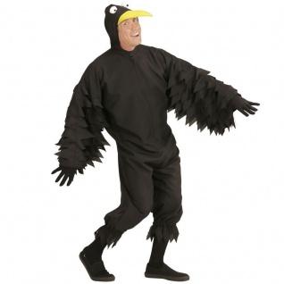 Herren Tierkostüm Vogel - RABE - für Karneval Fasching Erwachsenen Kostüm