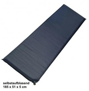 Luftmatratze selbstaufblasend Luftbett Isomatte Camping Matratze 5 cm