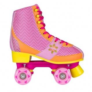 Rollschuhe Kinder Roller Skates Rollerskates Chevron Fuchsia - Modell 2018 NEU