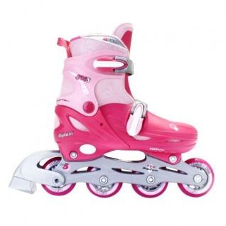 Inlineskates + Rollschuhe, pink 27 28 29 30 31 32 33 34 35 36 37 Inliner