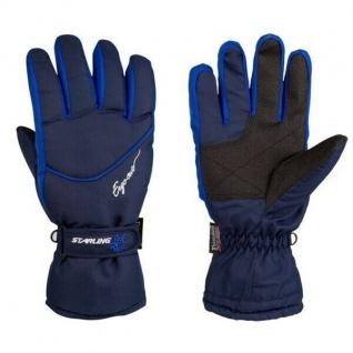 Handschuhe Snowboard Ski-Handschuhe Winterhandschuhe Gr. 8 - M - blau (405MKW)