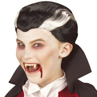 Kinder Vampir Perücke Dracula Halloween Vampirperücke Kinderperücke Kostüm 6278v