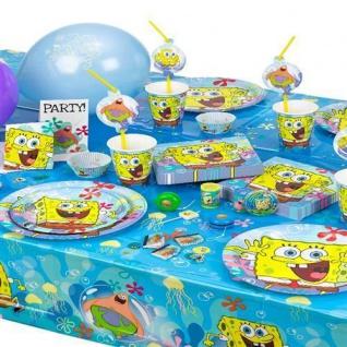 SPONGE BOB Spongebob Kinder Motto Party Kindergeburtstag Geburtstag AUSWAHL