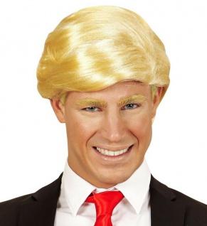 Mr. President USA Herren Perücke Donald blond - Karneval Fasching #2097