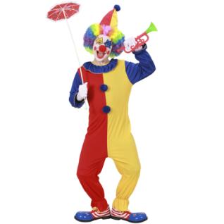 WOW Kinder Kostüm CLOWN - Karneval Fasching für Jungen Mädchen Zirkus Kostüm