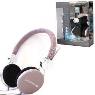 GRUNDIG Original STEREO KOPFHÖRER -flieder- Cool Color 105dB TV Heim-Audio MP3