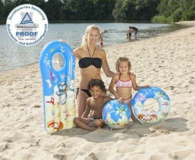 """Luftmatratze Schwimmring Wasserball 3 tlg. Strandset """" Bubble Town"""" NEU"""