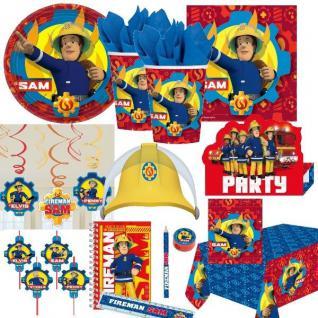 FEUERWEHRMANN SAM - NEU - Kinder Geburtstag Motto Party Feuerwehr Deko
