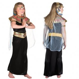 Cleopatra Ägyptische Königin Kinder Kostüm Pharaonin Mädchen Kleid mit Zubehör
