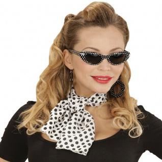 50er Jahre Rockabilly Kostüm Accessoires Damen 3-tlg.Schmuck Zubehör Set #717