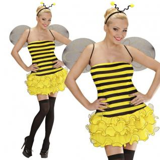 SEXY BIENE Damen Kostüm Gr. L (42/44) Bienchen Tierwelt - Karneval Fasching
