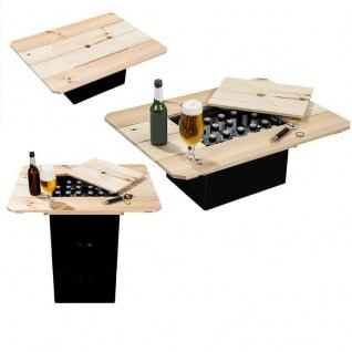 Bierkasten Holztisch Deckel Kiefernholz 79x57, 5x10, 5cm Ausschnitt 30, 5 x 28, 5cm
