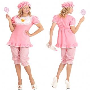 BABY GIRL Mädchen Gr. L (42/44) Damen Kostüm Erwachsene Strampler Babykostüm
