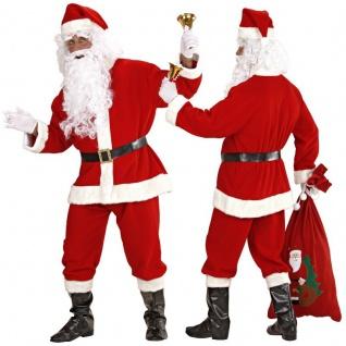 Exclusives NIKOLAUS KOSTÜM 7 tlg. Gr.48-56 Weihnachtsmann - Karneval Fasching