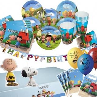 PEANUTS - Alles zum Kindergeburtstag -Geburtstag Party Deko Snoopy Charlie Braun