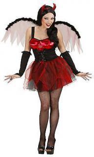 Sexy Teufelin Damen Kostüm Halloween Karneval Teufel Gr. M 38 40 (8983)