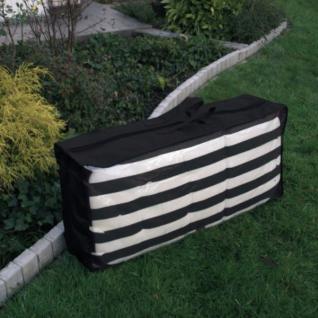 Schutzhaube Schutzhülle Tragetasche Anthrazit 125x50x32 cm Auflagenschutzhülle