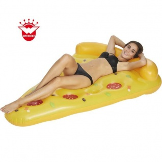 Wehnke 77642 - Badeinsel Pizza Floater 169x121cm Luftmatratze Pool Lounge