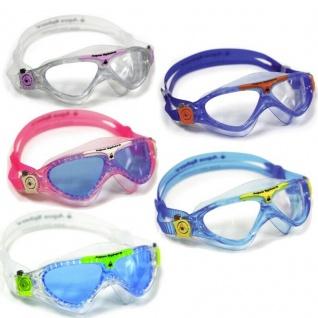 Aqua Shere VISTA JUNIOR Kids Kinder Schwimmbrille mit Etui - AUSWAHL -