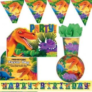 Dino Party Kindergeburtstag Motto Dinosaurier Dekoration Set Geburtstag Deko