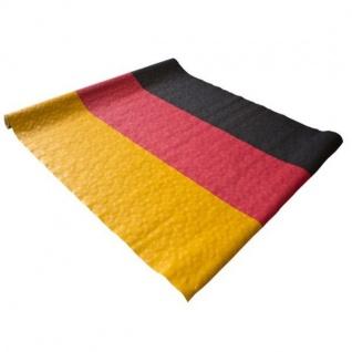 Damasttischtuchrolle Tischdecke Deutschland Fan Artikel Dekoration WM+EM #159-34