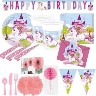UNICORN kleines EINHORN Pferd Kindergeburtstag Geburtstag Party Fete Motto