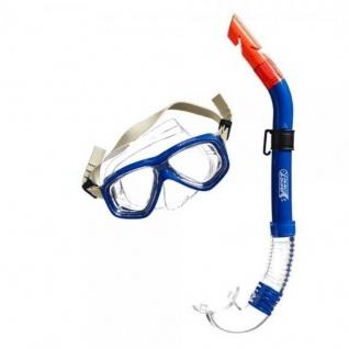 Tauchset für Jugendliche ANACONDA blau Schnorchel und Maske BEST Sporting #5560