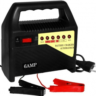 Kfz Ladegerät Batterieladegerät Auto Batterie Akku Batterielader 6V 12V 6A Pkw