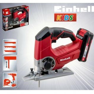 Kinder Werkzeug EINHELL KIDS Akku Stichsäge mit bewegendem Sägeblatt Spielzeug