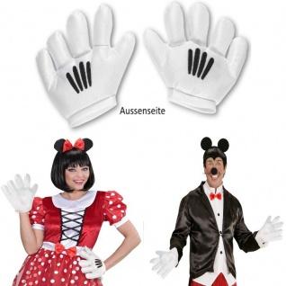 Cartoon Handschuhe Cooles Kostüm Zubehör Accessoire für Super Mario, Mickey Maus