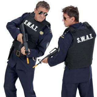 SWAT Weste Kostüm Erwachsene Polizei Spezialeinheit SEK Weste 2856