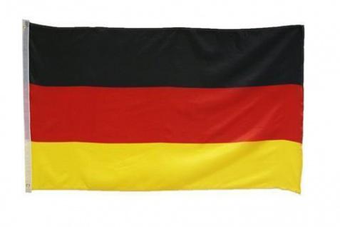 FAHNE DEUTSCHLAND 90x150 mit Ösen Flagge Flaggen Fahnen Fussball