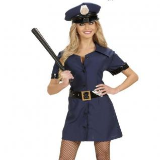POLIZISTIN - POLICE GIRL - Gr. XL 46/48 Damen Polizei Kostüm Karneval #7724
