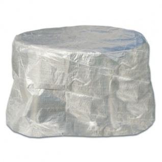 Schutzhaube Schutzhülle 125cm Transparent Möbelschutzhülle Abdeckung Gartentisch