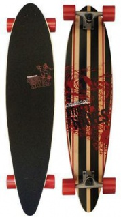 "Street Waves Longboard 39"" Nijdam Skateboard das perfekte Board zum Cruisen"