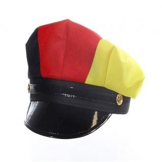 Polizeihut Mütze Kopfabdeckung Deutschland Fan Artikel Dekoration WM+EM #90899