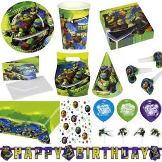 Ninja Turtles AUSWAHL zum Kindergeburtstag Geburtstag Motto Party Deko