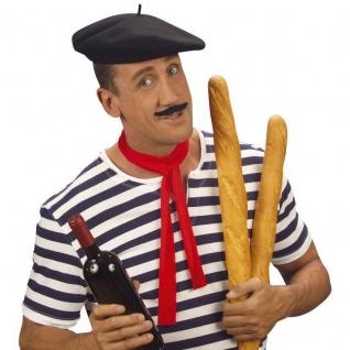 FRANZOSENMÜTZE Mütze Barett Franzose Baguette Hut Frankreich