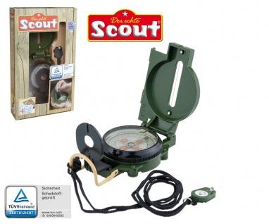 Scout TASCHENKOMPASS Marschkompass Kinder-Kompass Wanderkompass LED-Beleuchtung