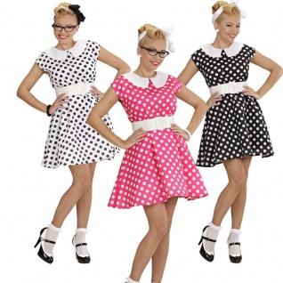 50er Jahre Tanzkleid Brautjungfern Petticoat Kleid Vintage Mode Damen Kostüm
